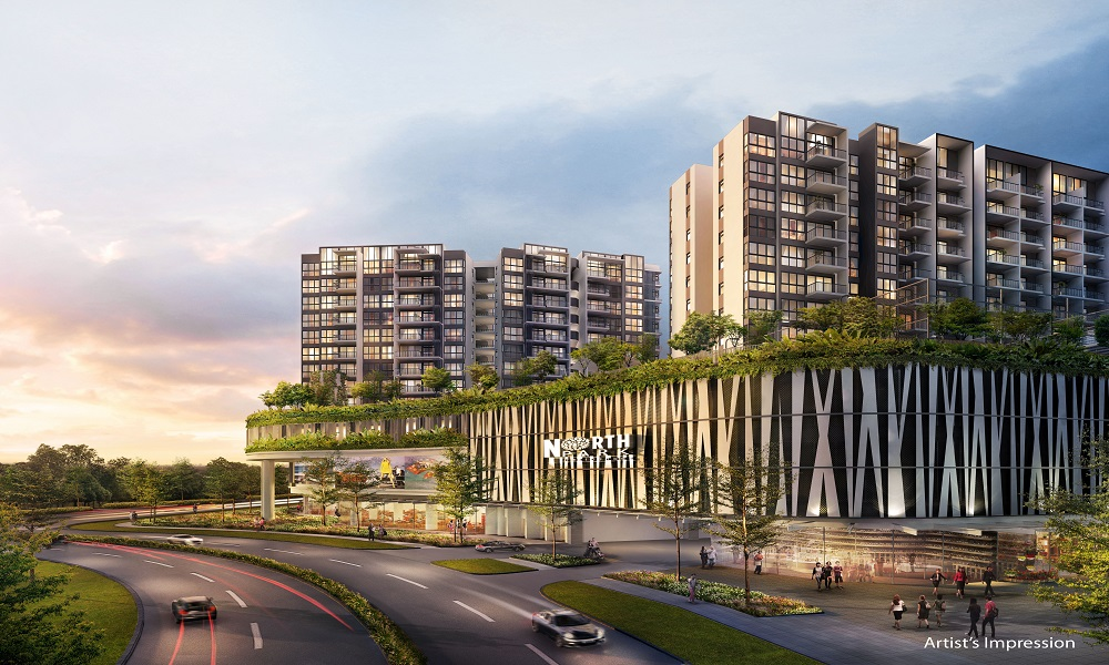 North Park Residences - Residential Carpark Entrance