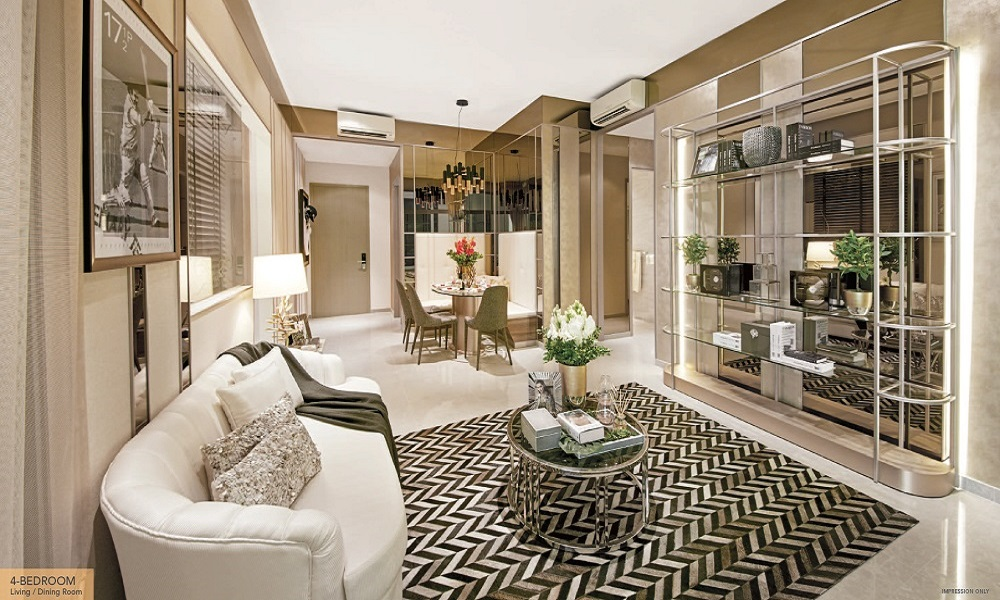 Sturdee Residences - Living and Dining