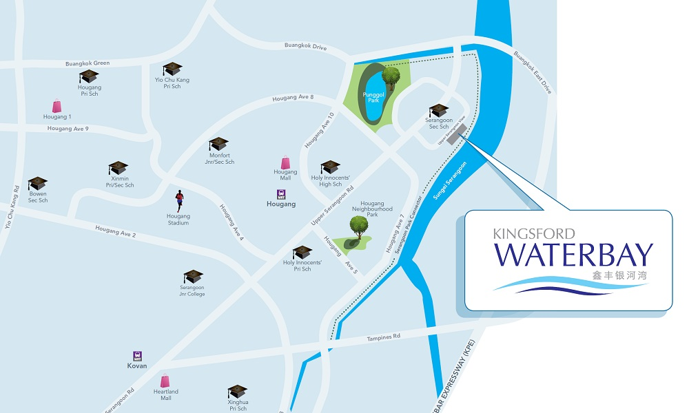 Kingsford Waterbay - Location Map